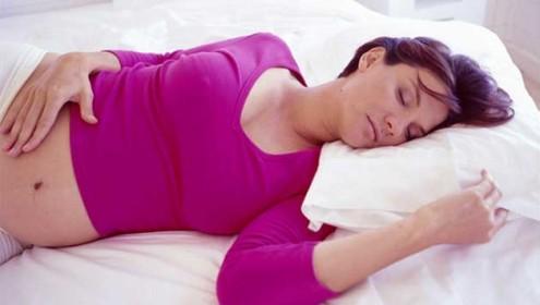 como dormir embarazo