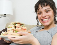 Buena nutrición durante la dulce espera