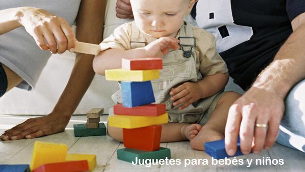 Juguetes para bebes y niños