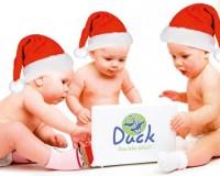 Duck Bebés Navidad