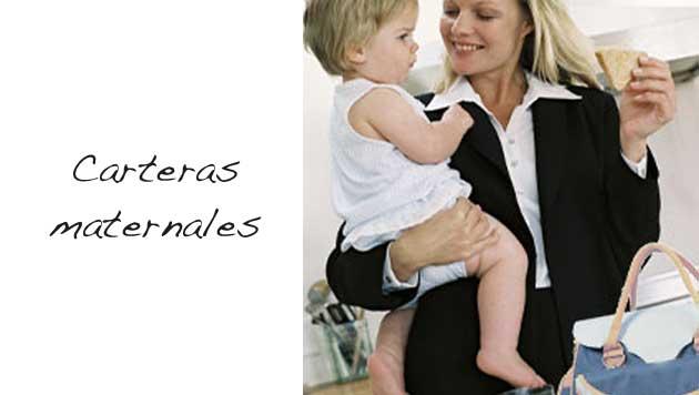 Carteras para Mamás, variedad en bolsos maternales