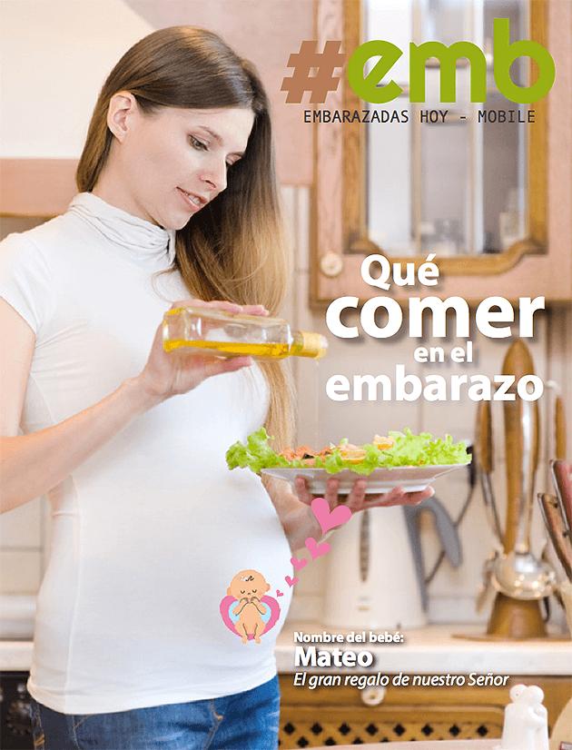 Tapa Embarazadas: Alimentación
